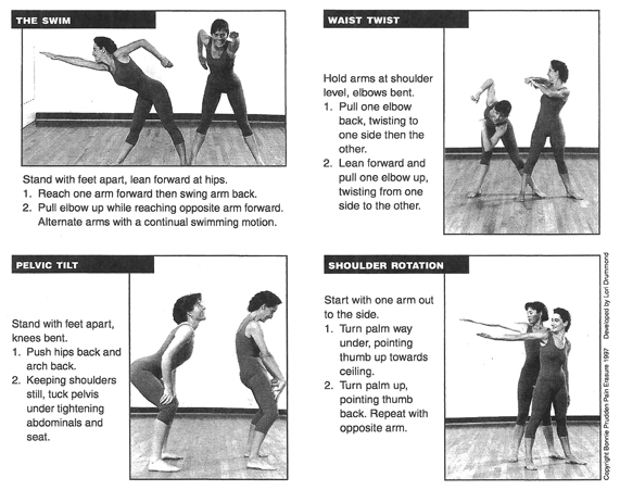 four corrective exercises