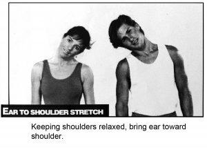 Shoulder stretch exercise