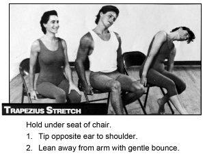Trapezius stretch