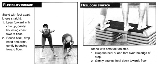 Flexibility Bounce + Heel Cord Stretch