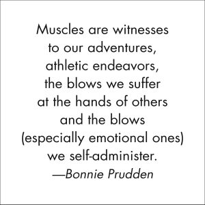 Muscles are Witnesses quote from Bonnie Prudden