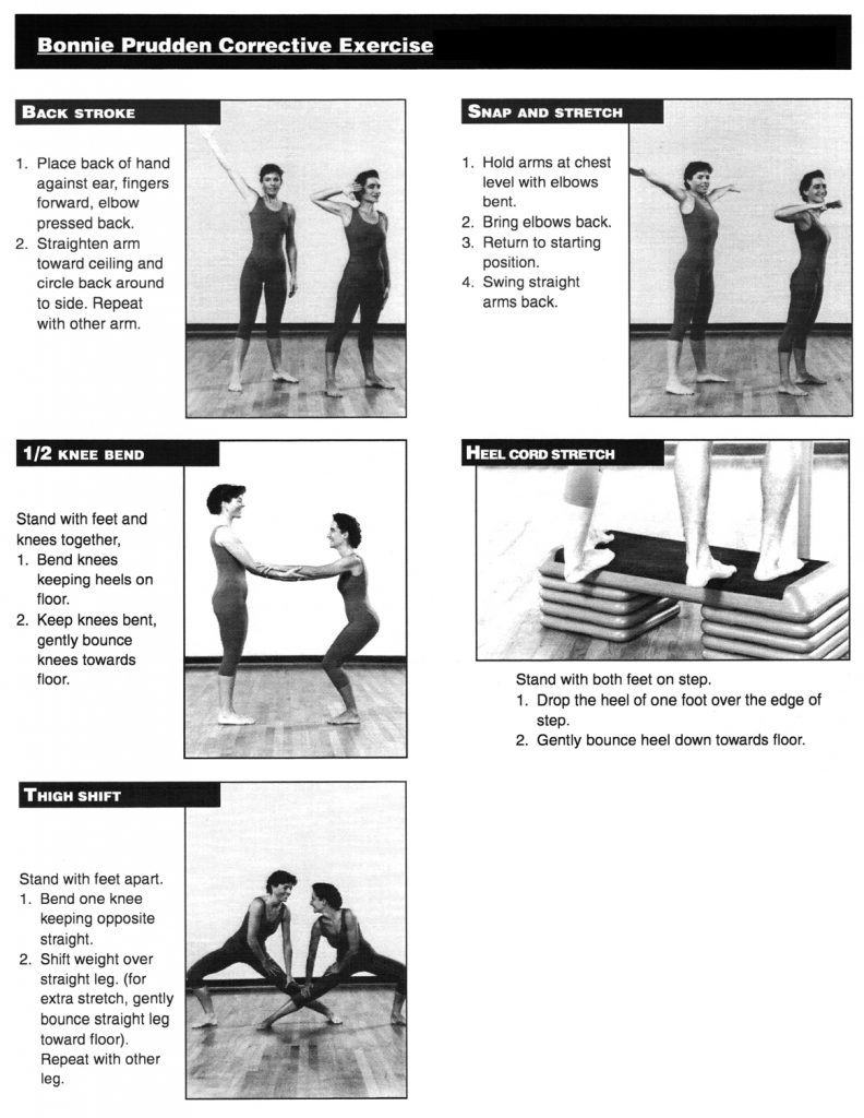 Corrective Exercises, by Bonnie Prudden