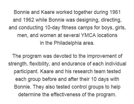 Info on Bonnie Prudden and Kaare Rodahl
