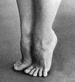 Your feet should be strong and flexible.