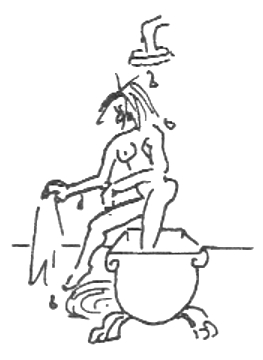 bathtub drawing 2 by Bonnie Prudden