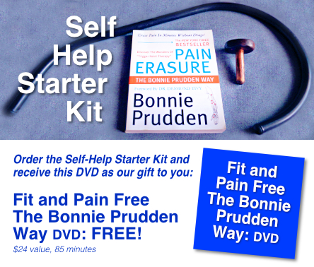 Self Help Starter Kit plus FREE DVD Fit and Pain Free Bonnie Prudden Way