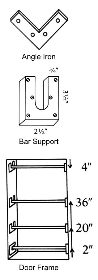Doorway Gym Parts