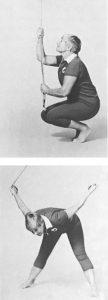 Doorway Gym Stretches: Rubber Strap