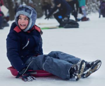 Snow Saucer Child.abbat-f4Z2czDXO0U-unsplash