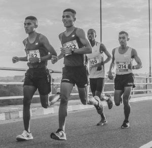 male runners photo